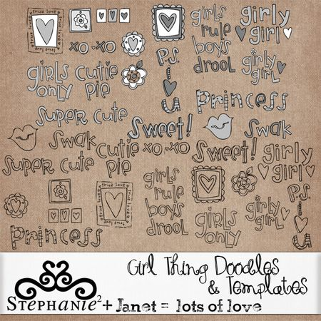 GirlThingDoodles&Templates600